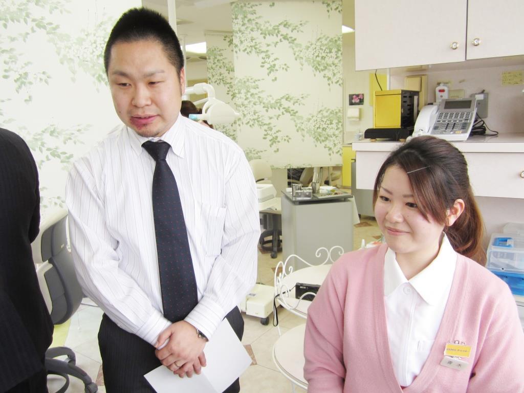 ●青木さんを紹介した卒業生はこの方!● シロナデンタルシステムズ株式会社 星野 浩一郎 さん