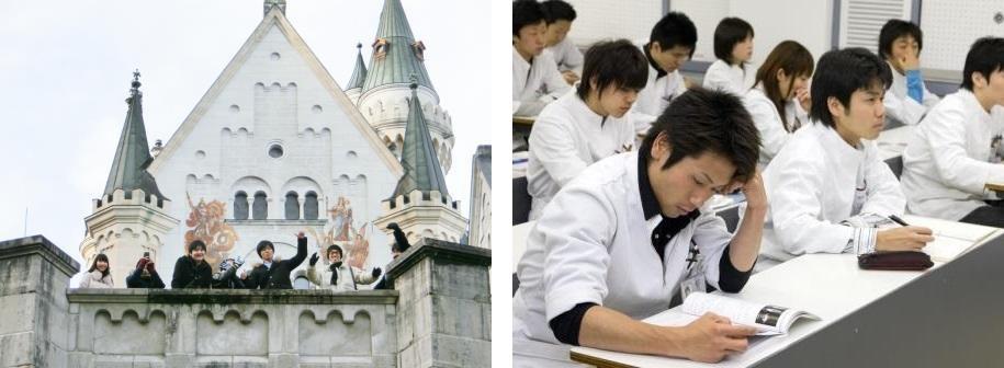 9月は海外研修旅行、前期期末試験